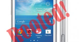 Root Samsung Galaxy Trend Plus GT-S7580